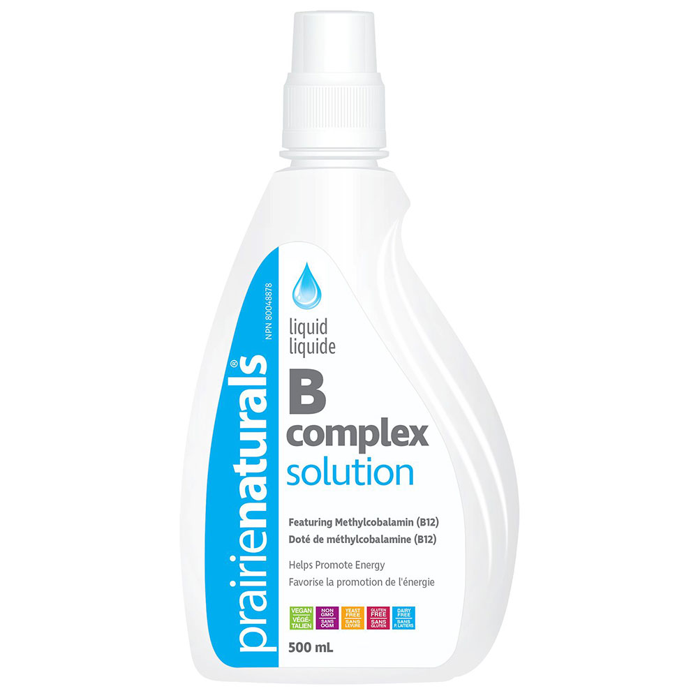 : Prairie Naturals Liquid B-Complex Solution
