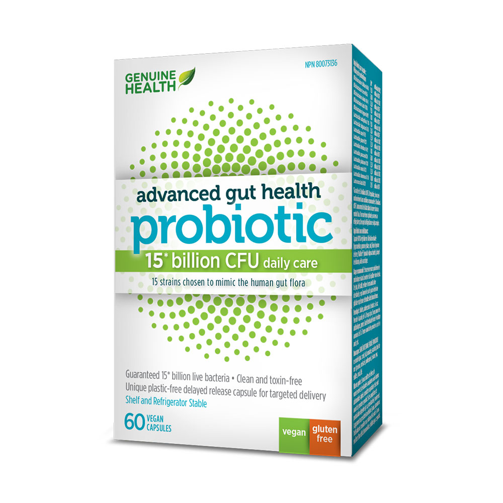 : Advanced Gut Health Probiotics - 15 Billion