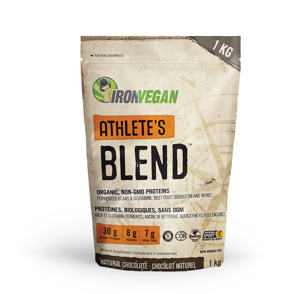 : Iron Vegan Athletes Blend, Chocolate