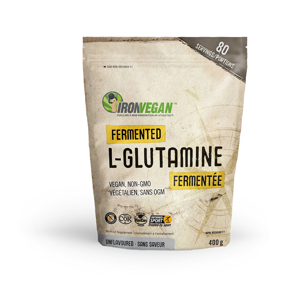 : Iron Vegan Fermented L-Glutamine