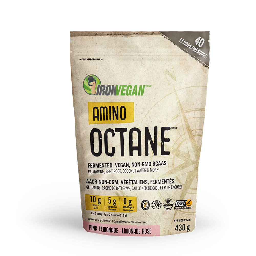 : Iron Vegan Amino Octane, Pink Lemonade