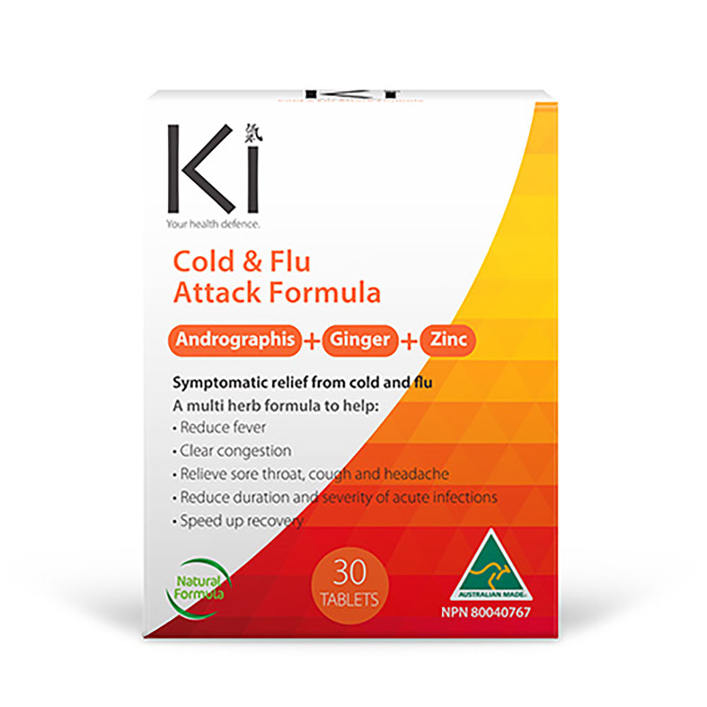 : Ki Cold & Flu Attack Formula 30 Tabs